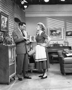 2-18 in 1953 - Lucille Ball and Desi Arnaz signed a contract worth $8,000,000 to continue the I Love Lucy TV show through 1955. The deal was the richest contract in television to that date.