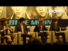 Singapore Grand Copthorne Waterfront hotel - CNBlue Blue Moon Press Conference 20130412