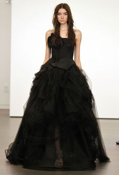 vera wang witchcraft, a simple wedding dress
