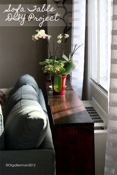 Remember my DIY Pallet Coffee Table ? TodayI bring you another DIY project. How is it food related? Well, I partially build this Sofa Ta...