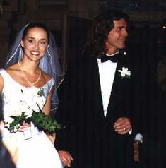 Joe and Kirsten lando's wedding day