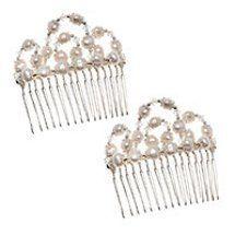 Pearl Wedding Comb