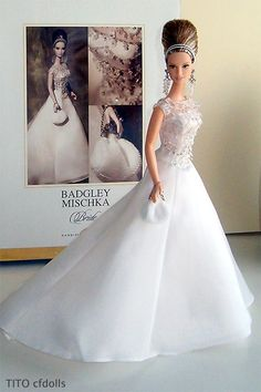 Badgley Mischka Bride Barbie