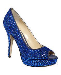 enzo angiolini shoes showyou platform pumps true blue baby i love you