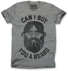 Fancy - Beard Tee by Buy Me Brunch