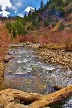 Clear Creek River in Golden, Colorado - by Denise Cordner (c) 2012