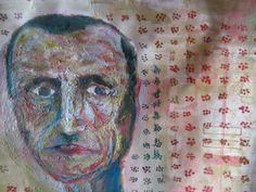 óleo sobre superficie ...  retrato de alguien guillermo v. n °3