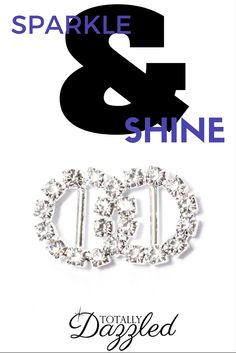 Only $0.98 for this interlinking circle buckle at totallydazzled.com! To view our entire catalogue, visit us online. We ship within one business day and your satisfaction is guaranteed!