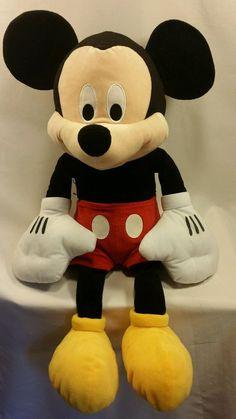 "Mickey Mouse Plush 22"" Doll Disney Toy  | Toys & Hobbies, TV, Movie & Character Toys, Disney | eBay!"