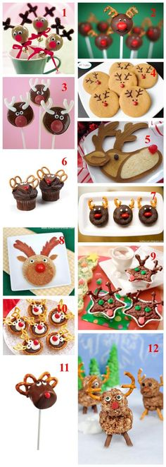 Christmas cake ideas! Use our Cake Pop Maker and Cupcake Maker to make these delicious treats!