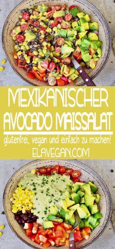 Vegetarian Recipes Dinner, Easy Dinner Recipes, Easy Meals, Dinner Ideas, Dessert Recipes, Easy Healthy Recipes, Vegan Recipes, Free Recipes, Avocado Salad Recipes