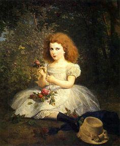 Portrait Of Countess Thun-Artur Grottger (1837 – 1867, Polish)