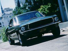 From the movie, Bullitt — 1968 Mustang GT 390 CID Fastback