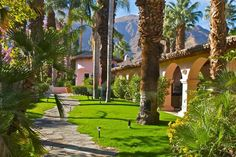 Palm Springs villa rental, garden, villas