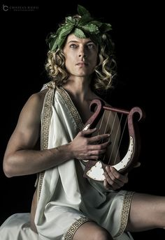 Photograph Greek God Apollo. Apollo was one of the twelve gods of the Olympus. He is the son of Zeus and Leto a by Cristian Baitg on 500px