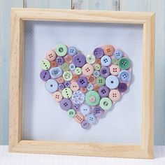 Button Box Frame | Craft Ideas & Inspirational Projects | Hobbycraft