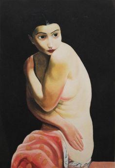 * Nu assis ou Alice Prin dite Kiki de Montparnasse - Moïse Kisling (1891-1953)