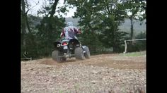 Session course de prairie en quad