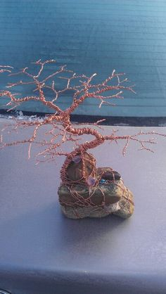 Copper wire tree