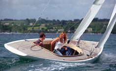 22 Spirit-of-Tradition boats - Classic Boat Magazine Sailing Dinghy, Catamaran, Sailing Ships, Dinghy Sailboat, Sailing Boat, Classic Sailing, Classic Yachts, Classic Boat, Wooden Sailboat