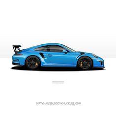 Mexico or Riviera? Something else? What's your favourite Porsche color?  Prints available at Dirtynailsbloodyknuckles.com  Link in profile  #porsche #911 #porsche911 #porscheart #991 #gt3 #911gt3 #gt3rs #991gt3 #911gt3rs #rs #gt3 #porschegt3 #991911 #automotiveart #illustration #carart #automotiveillustration #rivierablue #mexicoblue #pts #painttosample #pts911 #ptsrs #918 #porschefans
