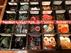 Loved finding #vintage #buttons #antwerp