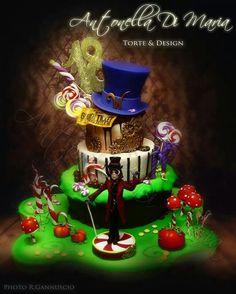 Willy Wonka Cake Art