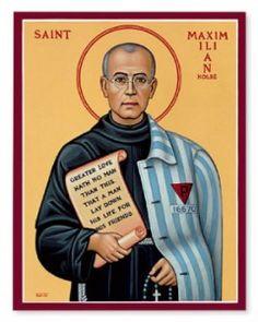 Icon of St. Maximilian Kolbe