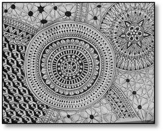 Zentangle Challenge # 169 | Xplore & Xpress