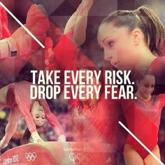To be a gymnast you have to be fearless.....trust me, I'm a gymnast, and it can be scary doing a new skill for the first time.