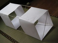 A Completed Box Kite by aconbere, via Flickr