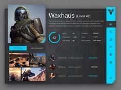 star wars battlefront redesign ui profile에 대한 이미지 검색결과