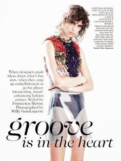 awesome Vogue UK Setembro 2014   Mica Arganaraz por Willy Vanderperre  [Editorial]