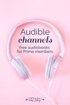Don't miss out on these free streaming audiobooks if you're an Amazon Prime member!