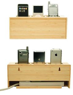 bamboo docking station | Bamboo Charging Station Lets You Juice Your Gadgets While Being Eco ...
