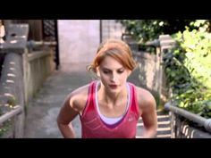 Nike Free -- I Would Run To You. Adorable commercial, and the girl inspires me. She's adorable in her Nike Frees!