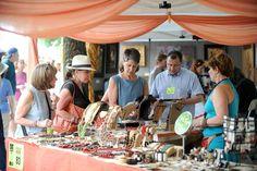 Lovely jewelry at Chicago Botanic Garden, Art Festival, Botanical Gardens, Garden Art, Illinois, Jewelry, Jewlery, Bijoux, Schmuck