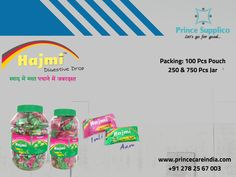 Absence of well-balanced diet results in infrequent bout of indigestion. Digestive Candy helps in easy digestion #Healthcare www.princecareindia.com Balanced Diet, Health Care, Jar, Personal Care, Candy, Sweet, Toffee, Sweets, Jars