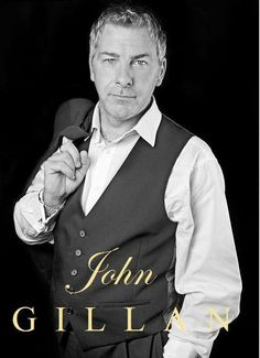 JOHN GILLAN. Superb classically trained tenor vocalist, AND a brilliant comedian ! As well as being a  Winner of clubland comedy awards from Preston to Leeds and all points in between, John will also be performing with Andrea Bocelli on his 2015 Tour.