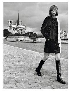 Edie à Paris (Vogue Paris)