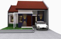 Desain Rumah Minimalis Modern Tipe 45 - Rumah Minimalis