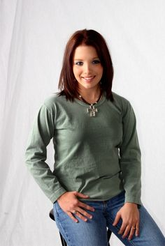 SOS From Texas : Organic cotton clothing Cold day in the SOS cotton fields so we have a special price on long sleeve organic cotton scoop neck tee