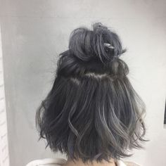 Japanese Hairstyle Hair Idea - All For Hair Color Trending Hair Styles 2016, Medium Hair Styles, Curly Hair Styles, Oval Face Hairstyles, Pictures Of Hairstyles, Short Thin Hair, Short Grey Hair, Aesthetic Hair, Hair Dye Colors