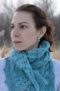 Itasca Shawl By Tanis Gray - Purchased Knitted Pattern - (ravelry)