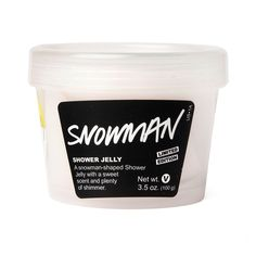 SNOWMAN Shower Jelly $6.95