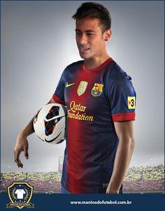 Neymar announces he will go to Barcelona! Lionel Messi and Neymar= unstoppable Neymar Barcelona, Barcelona Shirt, Neymar Jr, Kyrie Irving Shoes, Paris Saint Germain Fc, National Football Teams, Play Soccer, T Shirt Yarn, Best Player