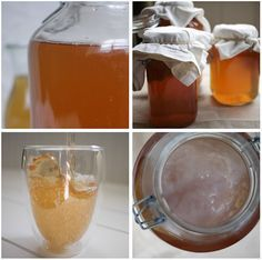 Kombucha: brew at home.  Easy how-to with flavor recommendations.