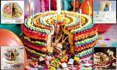 Pinata cake with sponge outside and sweets INSIDE is new baking craze