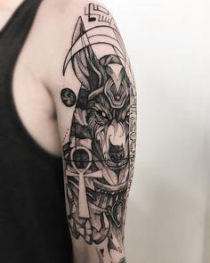 Anúbis Obrigado mais uma vez Felipe whiteman haha👊🏼 BELO HORIZONTE 18 - 28 junho🛫 SÃO PAULO 3 - 7 Julho Agenda aberta Contato apenas pelo email: renatovisiontattoo@gmail.com Egyptian Cat Tattoos, Egyptian Tattoo Sleeve, Egypt Tattoo, Simbolos Tattoo, Tattoo Outline, Band Tattoo, Dream Tattoos, Badass Tattoos, Wolf Tattoos