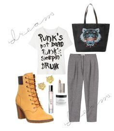 """""""Untitled #354"""" by bluveraa ❤ liked on Polyvore featuring Timberland, Toast, R13, Kenzo, philosophy, women's clothing, women's fashion, women, female and woman"""